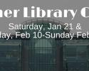 Koerner Library Closure